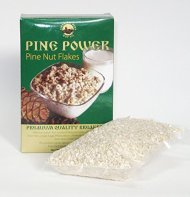 Pine Nut Flakes – PINE POWER. 17.5 Oz. (500 g). Raw Product. Pressed From Wild Harvested, Organic Pine Nuts.