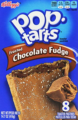 Pop-Tarts, Frosted Chocolate Fudge, 8 Count