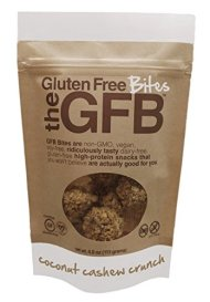 The Gluten Free Bar Coconut Cashew Crunch Bites, 4 Ounce