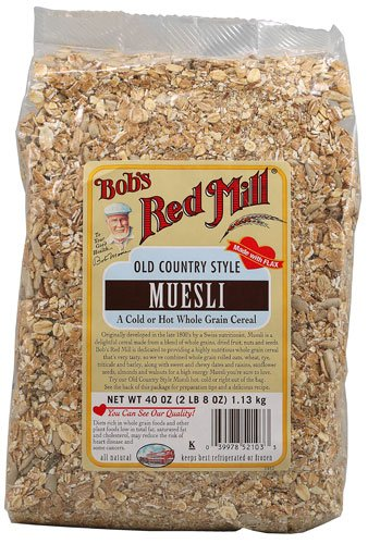 Bob's Red Mill Old Country Style Muesli Cereal — 40 oz