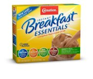 Carnation Instant Breakfast Essentials, Variety Pack, 10 count, 1.26-Ounce Units (Pack of 3)