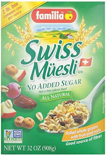 Familia Swiss Muesli (No Sugar Added) Cereal – 32 oz
