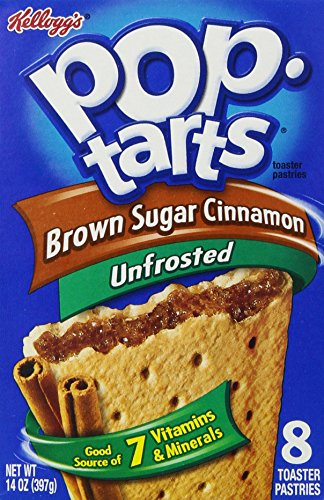 Kellogg's Pop Tarts, Brown Sugar Cinnamon, 14 oz