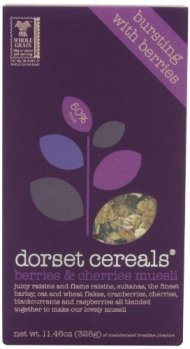 Dorset Cereals Muesli, Berries and Cherries, 11.46-Ounce (Pack of 5)