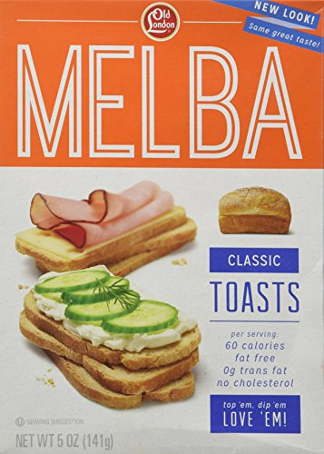 Old London Melba Toast, Classic, 5 oz Boxes(Pack of 2)