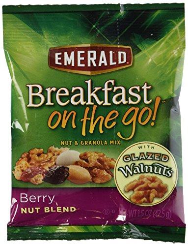 Emerald Breakfast On The Go – Berry Nut Blend (Case of 8)1.5oz each NET WT 12oz