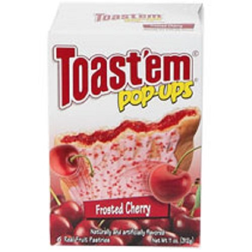 Toast'em Frosted Cherry Pastry Tart, 11 Ounce