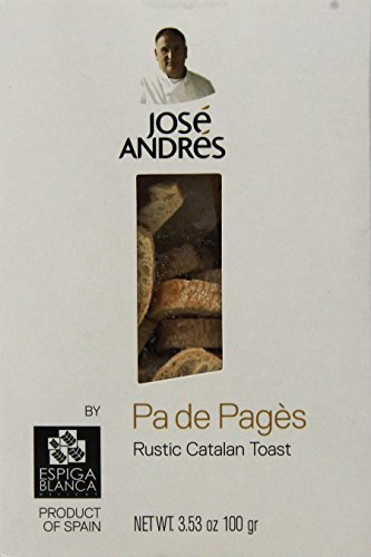 Jose Andres Foods Pa De Pagès Rustic Catalan Toast, 3.53 Ounce