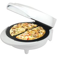 New Electric Non-Stick double omelette maker white