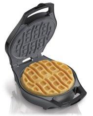 Hamilton Beach 26040 Mess Free Belgian Style Waffle Maker