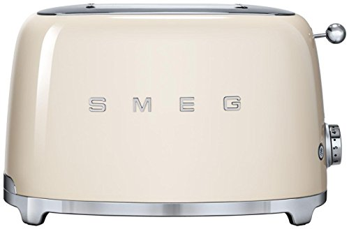 Smeg 2-Slice Toaster-Cream