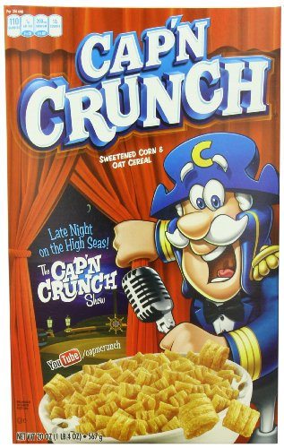 Cap'N Crunch, Red Box, 20-Ounce