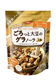 Nissin Dried Mixed Beans Flavour Granola 480g