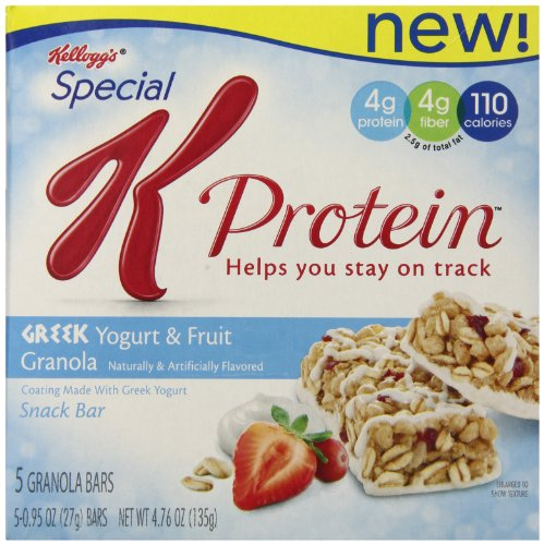 Special K Protein Bar, Greek Yogurt and Fruit, 4.76 Ounce 5 bars