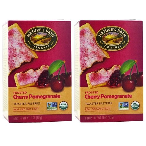 Nature's Path Frosted Toaster Pastry – Cherry Pomegranate – 11 oz – 6 ct – 2 pk