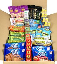 Breakfast On The Go Snacks In A Box Bundle Individually Wrapped Snacks (40 Count)