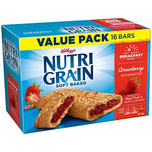 Kellogg's Nutri-Grain Bars, Strawberry, 16 count