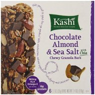 Kashi Chewy Granola Bars, Chocolate Almond and Sea Salt with Chia, 1.2 Ounce, 6 Count (Pack of 3)