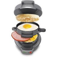 Hamilton Beach Breakfast Sandwich Maker, Silver