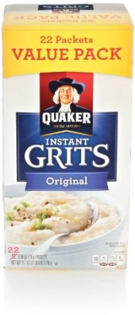 Quaker Instant Grits, Regular, 21.7 Oz