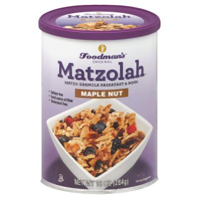 Matzolah- Matzo Granola Breakfast and Nosh (Maple nut, 2 pk)