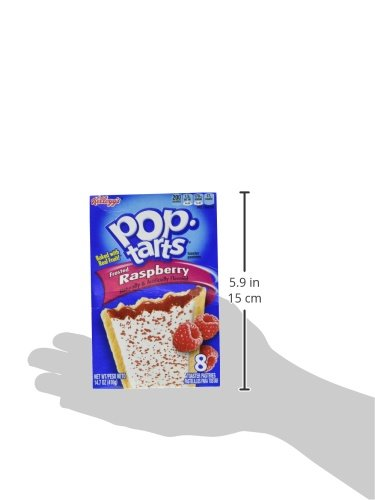 Kellogg's Pop-Tarts Frosted Raspberry Toaster Pastries 8 ct