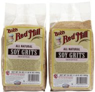Bob's Red Mill Defatted Soy Grits – 24 oz – 2 pk
