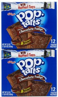 Kellogg's Pop-Tarts Toaster Pastries – Frosted Chocolate Fudge – 22 oz – 12 ct – 2 pk
