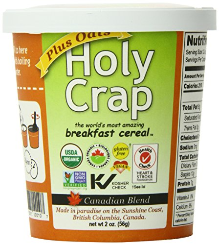 Holy Crap Plus Oats Cereal Cup, 2 Ounce (Pack of 12)