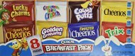 General Mills Cereal Variety Pack, 8 pouches 9.14 oz