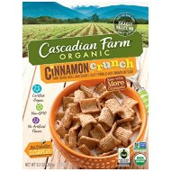 Cascadian Farm Organic Cereal, Cinnamon Crunch,9.2 Ounce