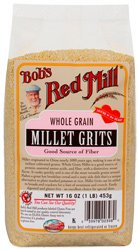 Bob's Red Mill Millet Grits/Meal – 16 oz