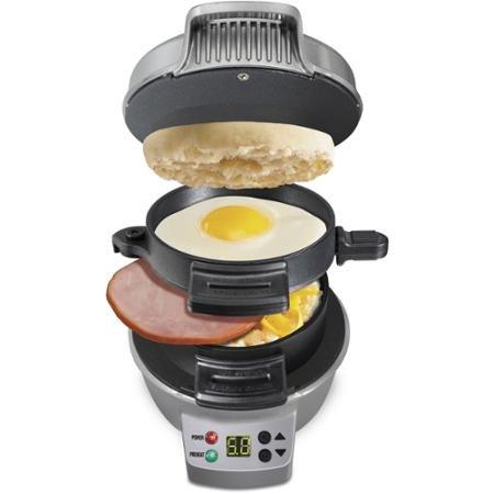 Hamilton Beach Breakfast Sandwich Maker with Count Down Timer