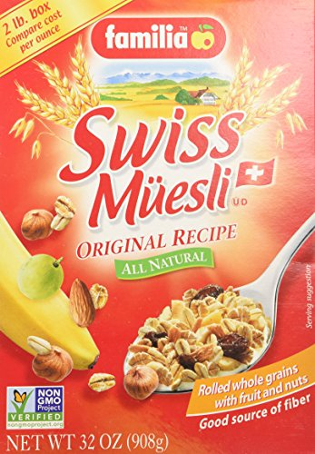 Familia Muesli Swiss Original (3×32 oz.)