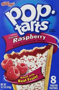Kellogg's Pop-Tarts Frosted Raspberry, 8 ct, 14.7 oz