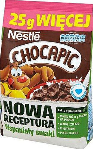 Nestle Chocapic 225g/7.9oz Wholegrain Chocolate Cereal