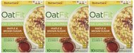 Better Oats OAT FIT Instant Oatmeal MAPLE & BROWN SUGAR 9.8oz (3 Pack)