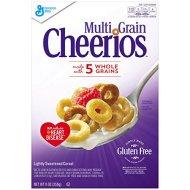 General Mills Cereals Cheerios Multi Grain Cereal, 9-Ounce Box