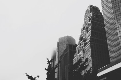 Fog and Architecture in NYC