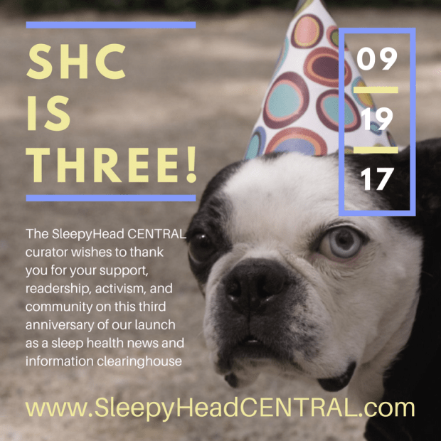 sleepyheadcentral third anniversary sleepyhead central sleepy head