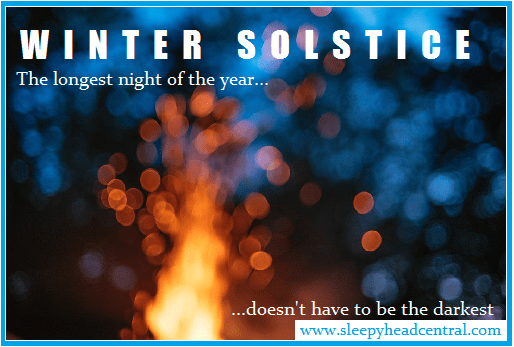 winter solstice hygge sleepyhead central longest night of the year darkest day