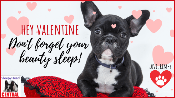 beauty sleep valentine