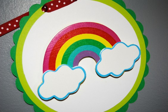 Rainbows and butterflies birthday party