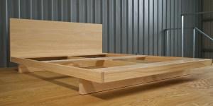 眠豆腐床架+床墊組合|標準雙人