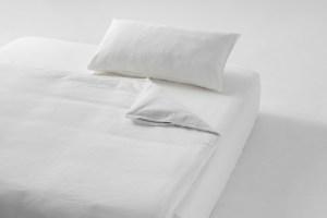 雙層紗/床包+枕套+被套/單人加大