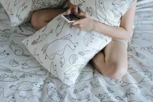 雙層紗/床包+枕套+被套/雙人特大