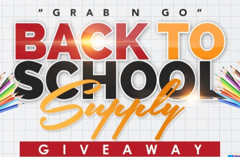 BACK TO SCHOOL SUPPLY – August 16th
