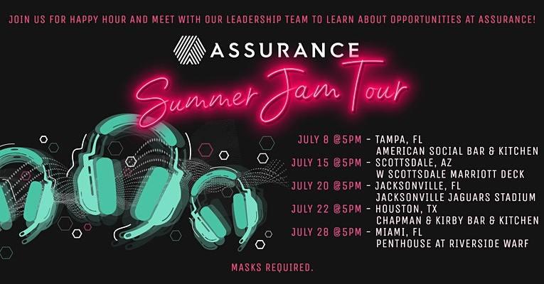 Assurance Summer Jam Tour Houston