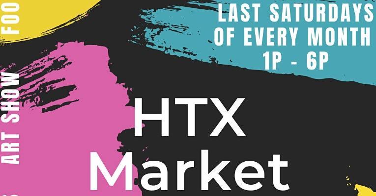 HTX Market x Urban South HTX Brewery Last Saturdays – Market + Artshow