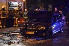 Kettingbotsing tussen drie voertuigen, Willem de Zwijgerlaan in Leiden
